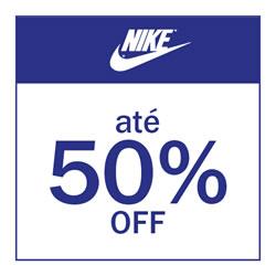 Nike até 50% OFF