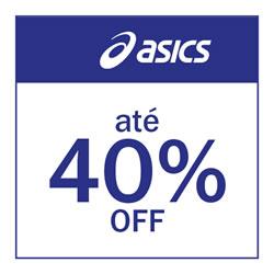 Asics até 40% OFF