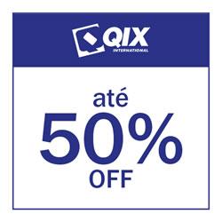 Qix até 50% OFF
