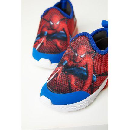 Tenis-Slip-On-Infantil-Menino-Crik-059-Homem-Aranha-Vermelho
