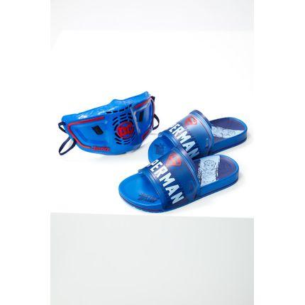 Chinelo-Slide-Infantil-Menino-Grendene-22445-Superman-Azul