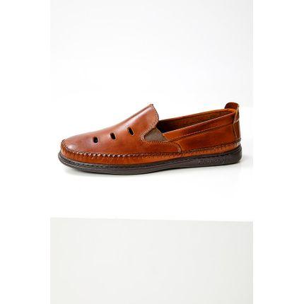 Sapato-Mocassim-Masculino-Comparini-930-Couro-Marrom