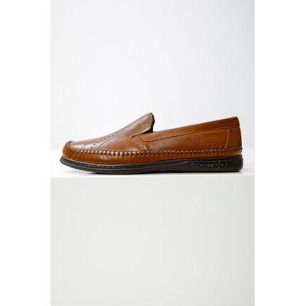 Sapato-Mocassim-Masculino-Comparini-840-Couro-Marrom