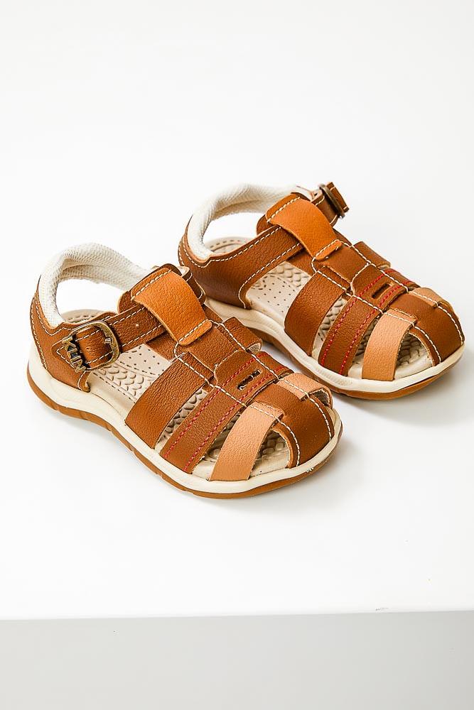 Sandalia-Casual-Infantil-Menino-Klin-476.188000-Marrom