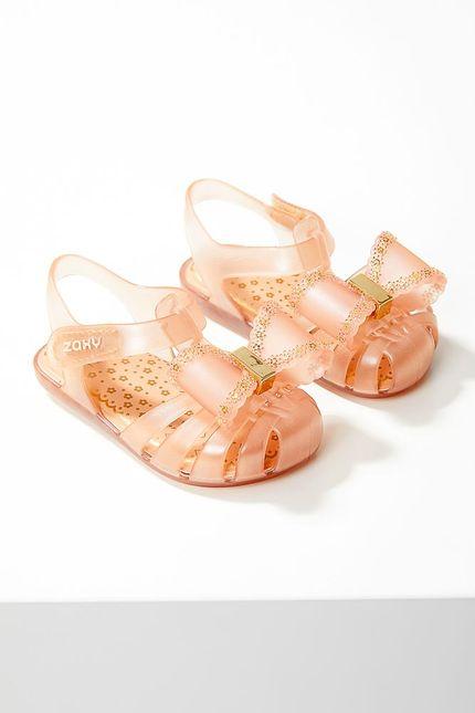 Sandalia-Rasteira-Infanti-Menina-Zaxynina-18191-Laco-Bege