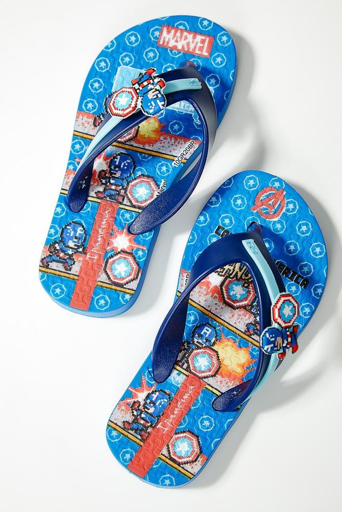 Chinelo-De-Dedo-Infantil-Menino-Ipanema-Capitao-America-Azul