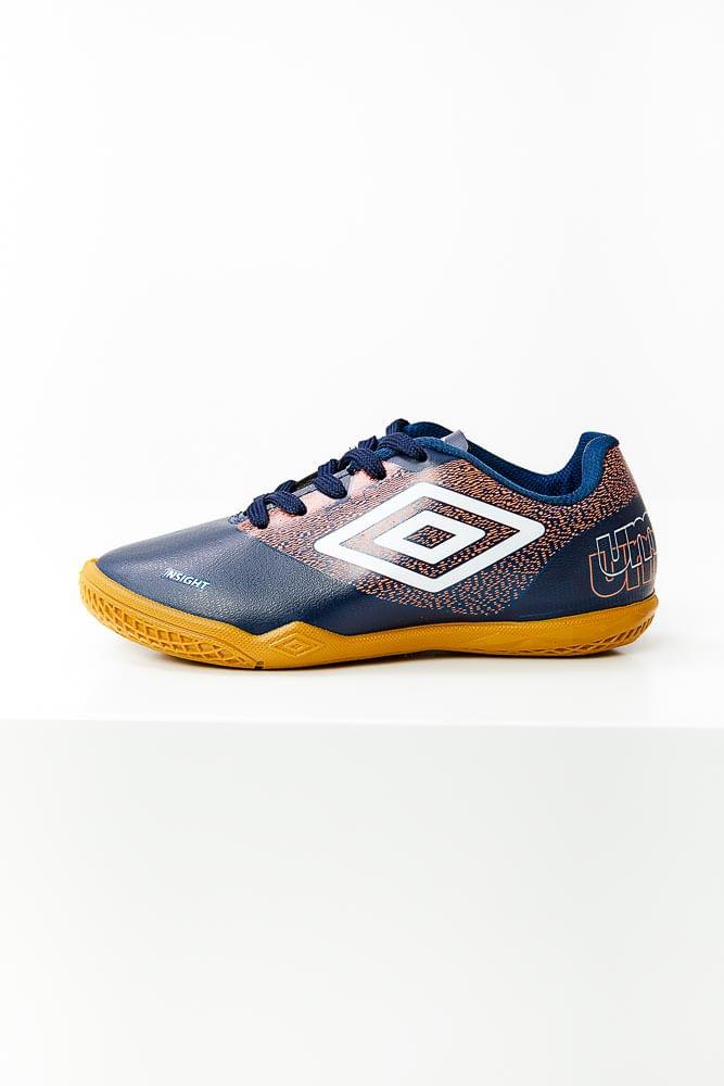 Tenis-Futsal-Juvenil-Menino-Indoor-Umbro-Insight-Marinho
