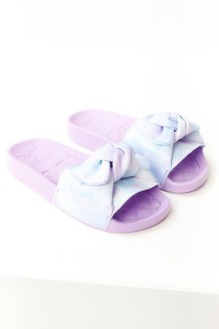 Chinelo-Slide-Molekinha-Laco-Menina-Tie-Dye-Lilas