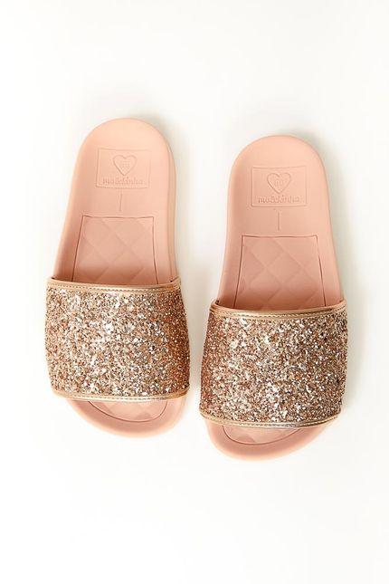 Chinelo-Slide-Infantil-Molekinha-Ouro