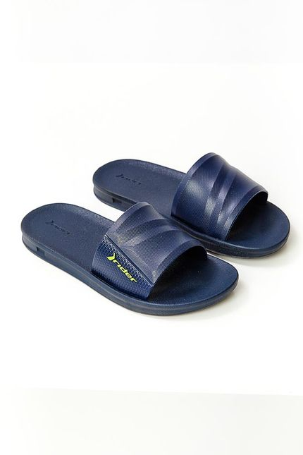 Chinelo-Juvenil-Slide-Rider-Azul-