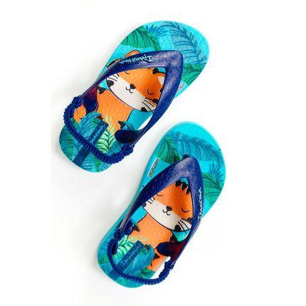 Chinelo-Dedo-Infantil-Ipanema-Gatinho-Azul