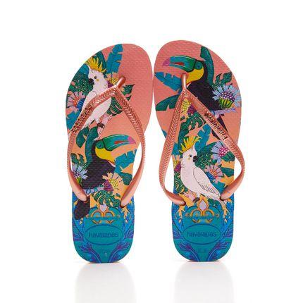 Chinelo-De-Dedo-Feminino-Havaianas-Slim-Tropical-Rosa