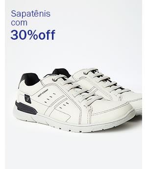 Meio - Sapatênis com 30% OFF