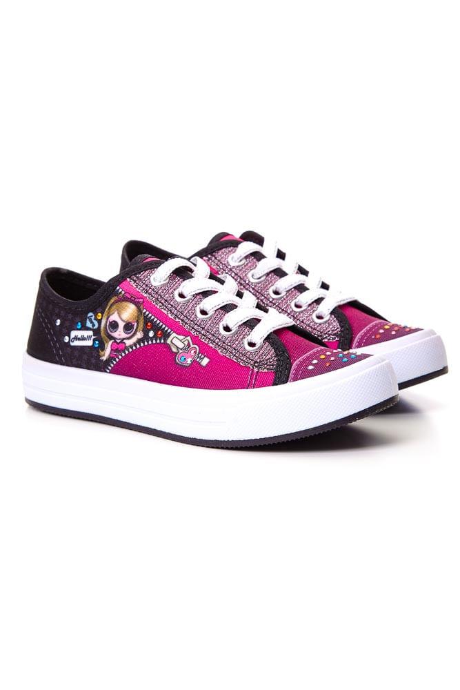Tenis-Casual-Menina-Juvenil-Star-Chic-I3004-Boneca-Pink
