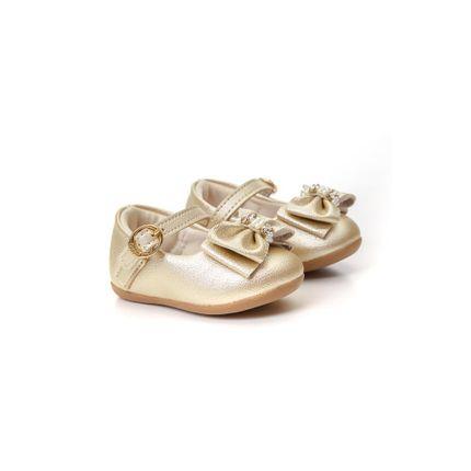 Sapatilha-Boneca-Infantil-Klin-Ouro