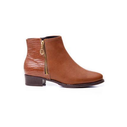 Bota-Ankle-Boots-Feminina-Beira-Rio-Napa-Marrom