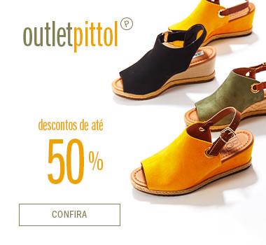 Outlet Pittol até 50% OFF