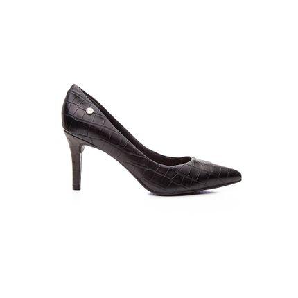 Sapato-Scarpin-Feminino-Via-Uno-Croco-Preto