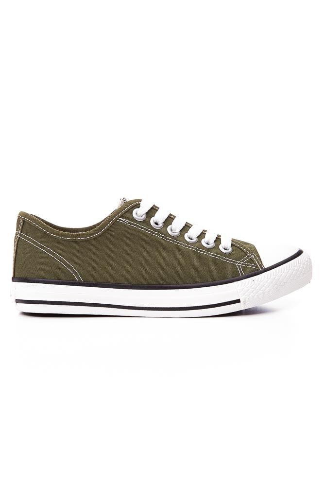 Tenis-Casual-Unissex-Street-Star-Basic-Color-Verde