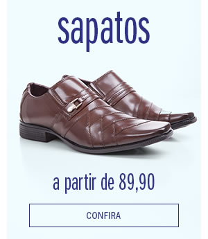 Meio - Sapato social a partir de 89,90