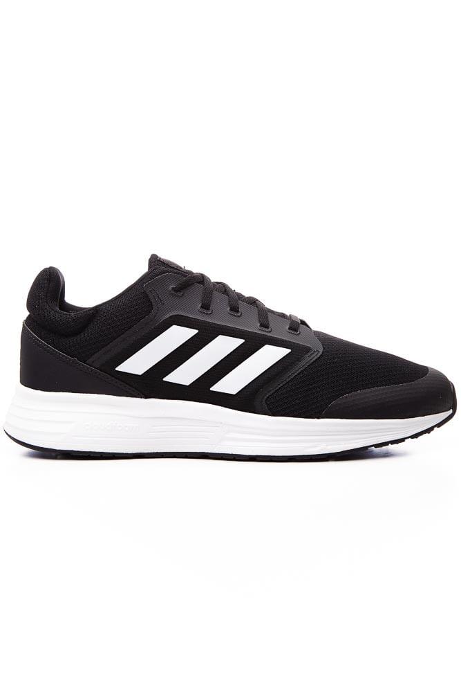 Tenis-Corrida-Masculino-Adidas-Galaxy-5-Preto