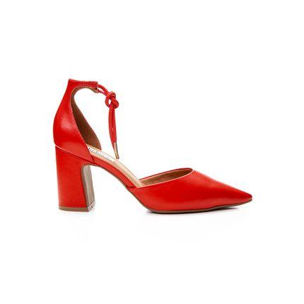 Sapato-Scarpin-Feminino-Bebece-Amarracao-T7021-163-Vermelho