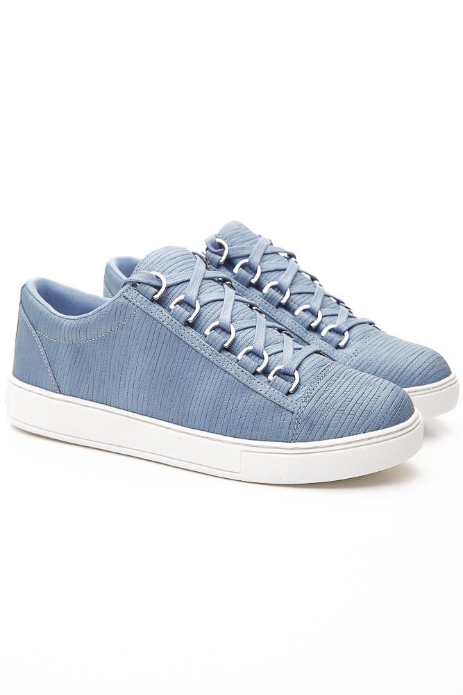 Tenis-Casual-Feminino-Luz-Da-Lua-S70149v2.21-Couro-Azul