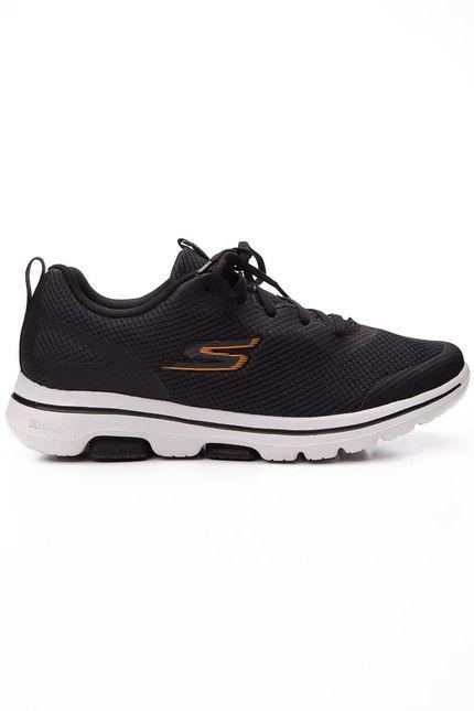 Tenis-Caminhada-Unissex-Skechers-Go-Walk-5-Preto