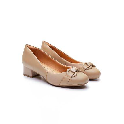 Sapato-Scarpin-Comfortflex-Bege