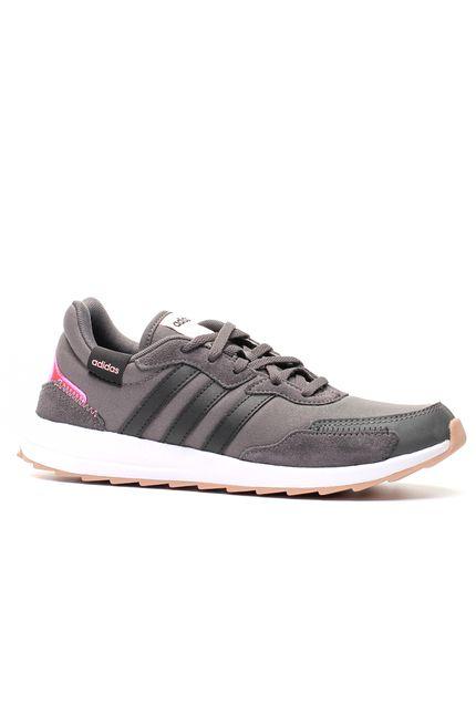 Tenis-Casual-Feminino-Adidas-Retrorun-Preto