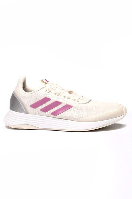 Tenis-Corrida-Feminino-Adidas-Qt-Racer-Bege