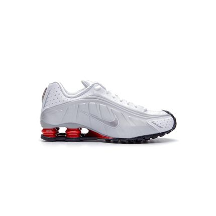 Tenis-Casual-Masculino-Nike-Shox-R4-Branco