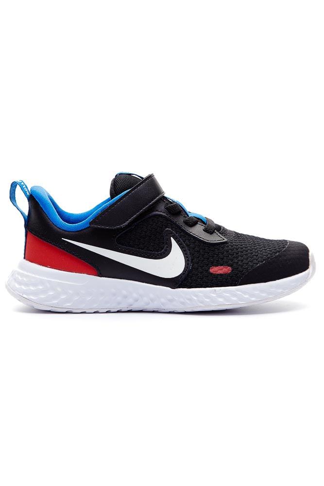 Tenis-Infantil-Menino-Nike-Revolution-5-Preto