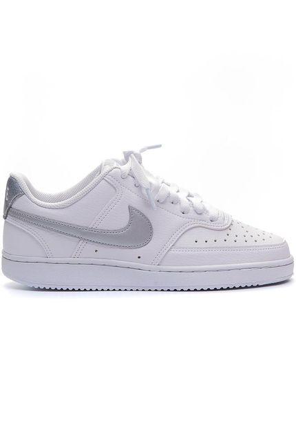 Tenis-Casual-Feminino-Nike-Court-Vision-Low-Branco