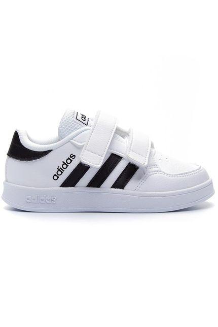 Tenis-Casual-Infantil-Adidas-Breaknet-Velcro-I-Branco