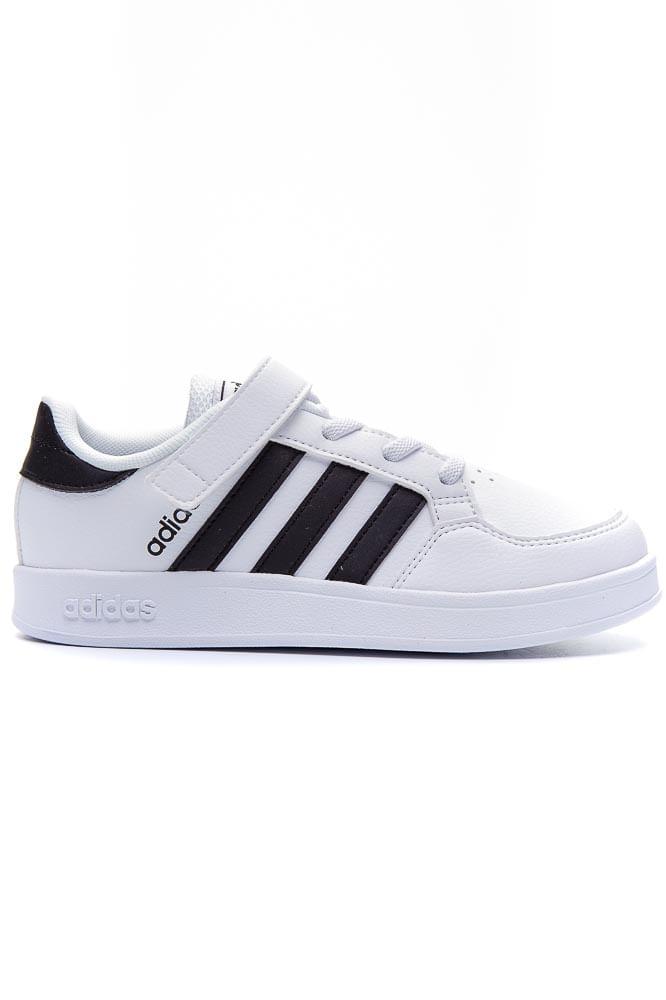 Tenis-Casual-Infantil-Adidas-Breaknet-Velcro-Branco