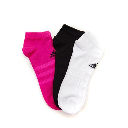 Kit-Meia-Low-Cut-3-Pares-Adidas-Cano-Baixo-Sortido