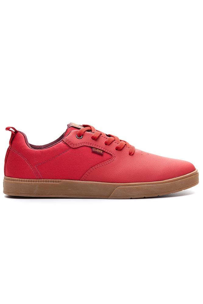 Tenis-Masculino-Skate-Qix-Zeen-Vermelho