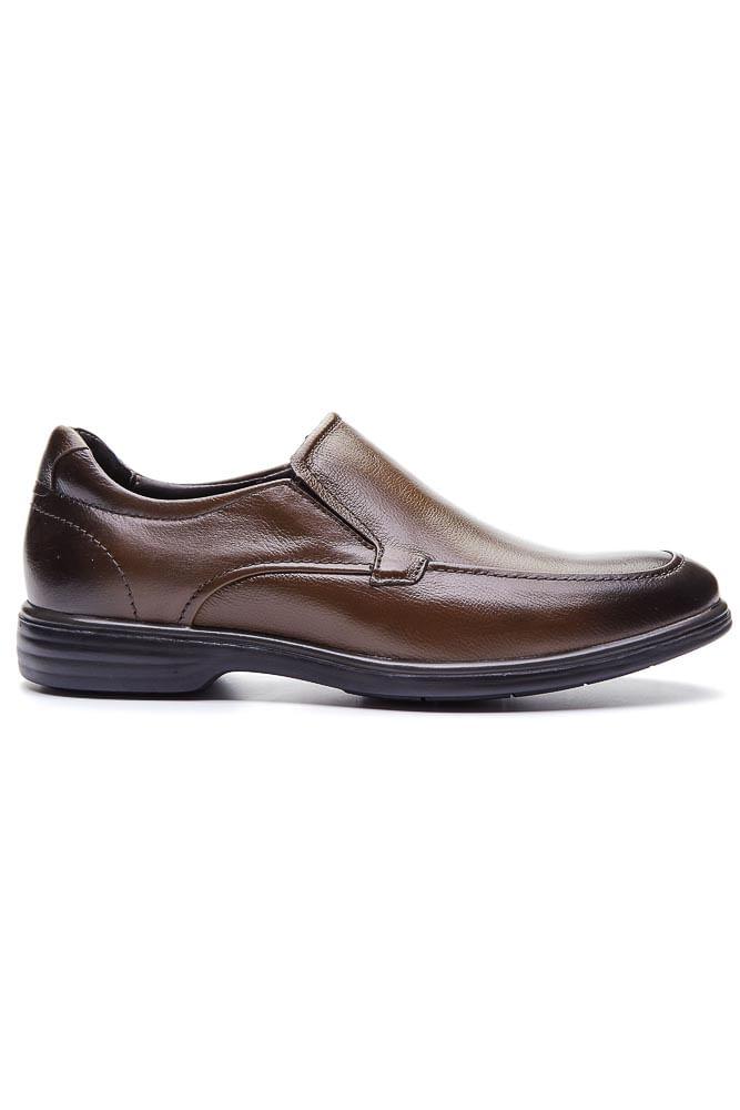 Sapato-Social-Loafer-Democrata-Couro-Marrom-