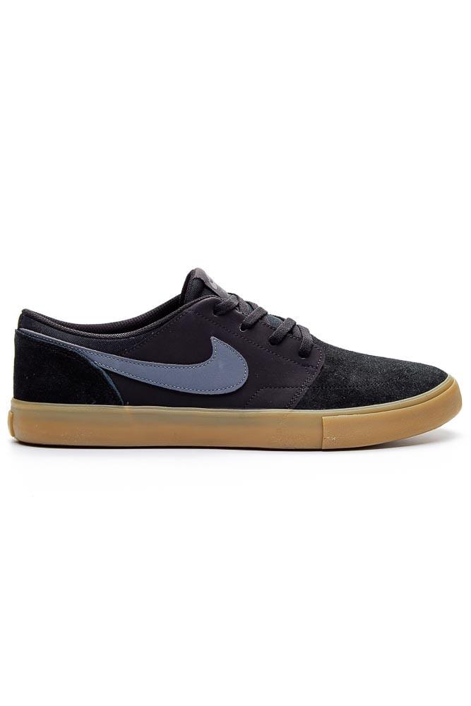 Tenis-Nike-Sb-Solarsoft-Portmore-Ii-Skateboarding-Preto