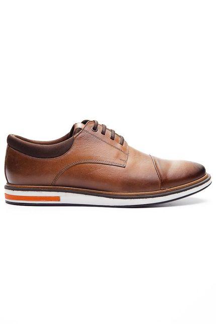 Sapato-Social-Oxford-Masculino-Talkflex-9486-Couro-Caramelo