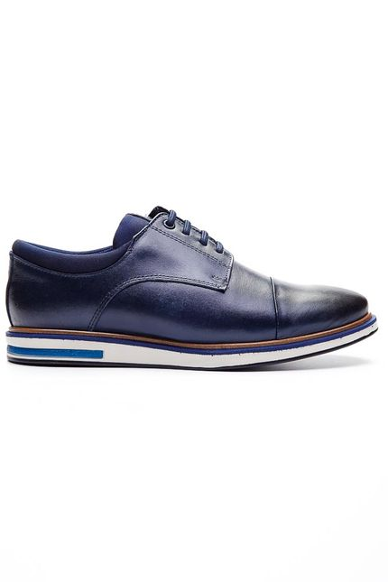 Sapato-Social-Oxford-Masculino-Talkflex-9486-Couro-Marinho