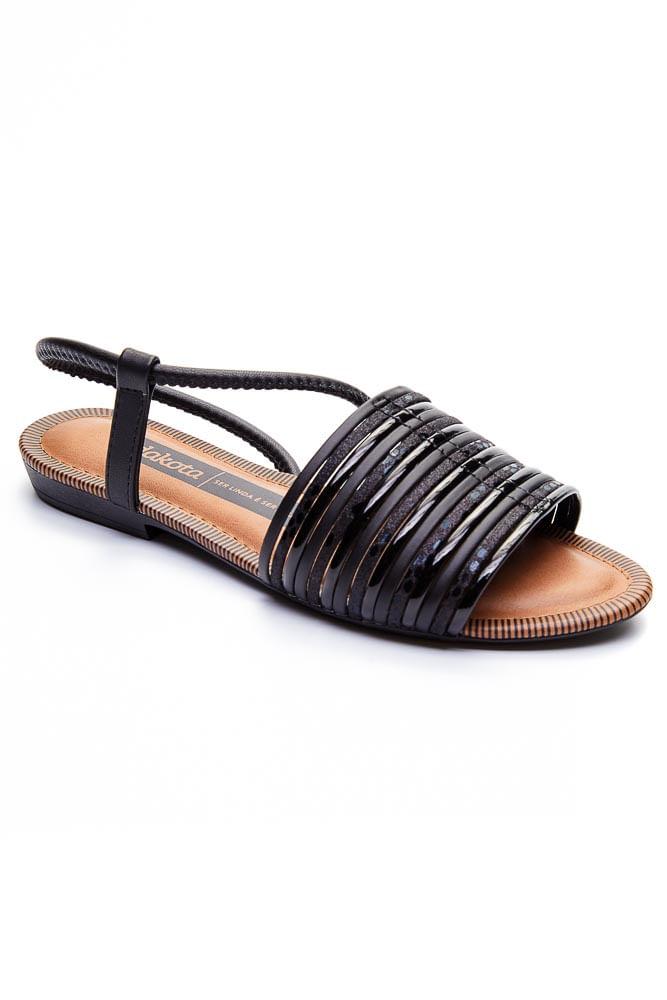 Sandalia-Feminina-Rasteira-Dakota-Preto