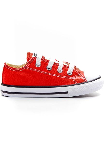 Tenis-Casual-All-Star-Converse-Infantil-Vermelho