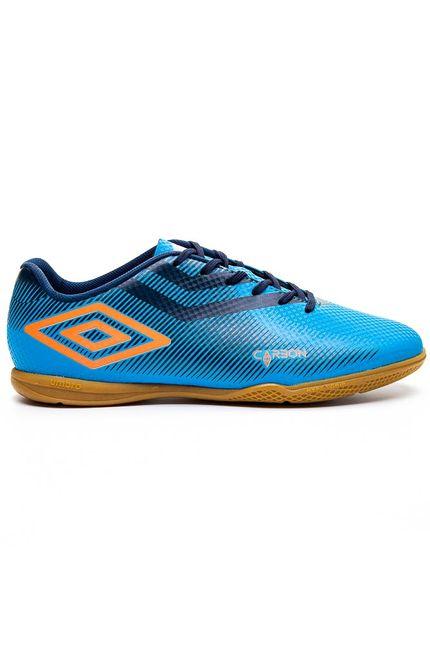 Tenis-Futsal-Umbro-Masculino-Carbon-Ii-Azul-