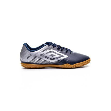 Chuteira-Futsal-Masculina-Umbro-Game-Marinho