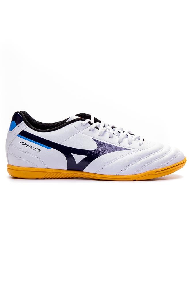 Chuteira-Futsal-Masculina-Mizuno-Morelia-Club-Branco