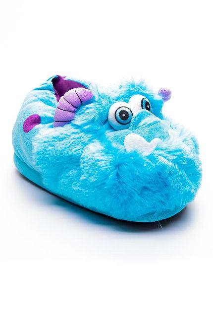 Pantufa-Personagem-Sulley-Azul-