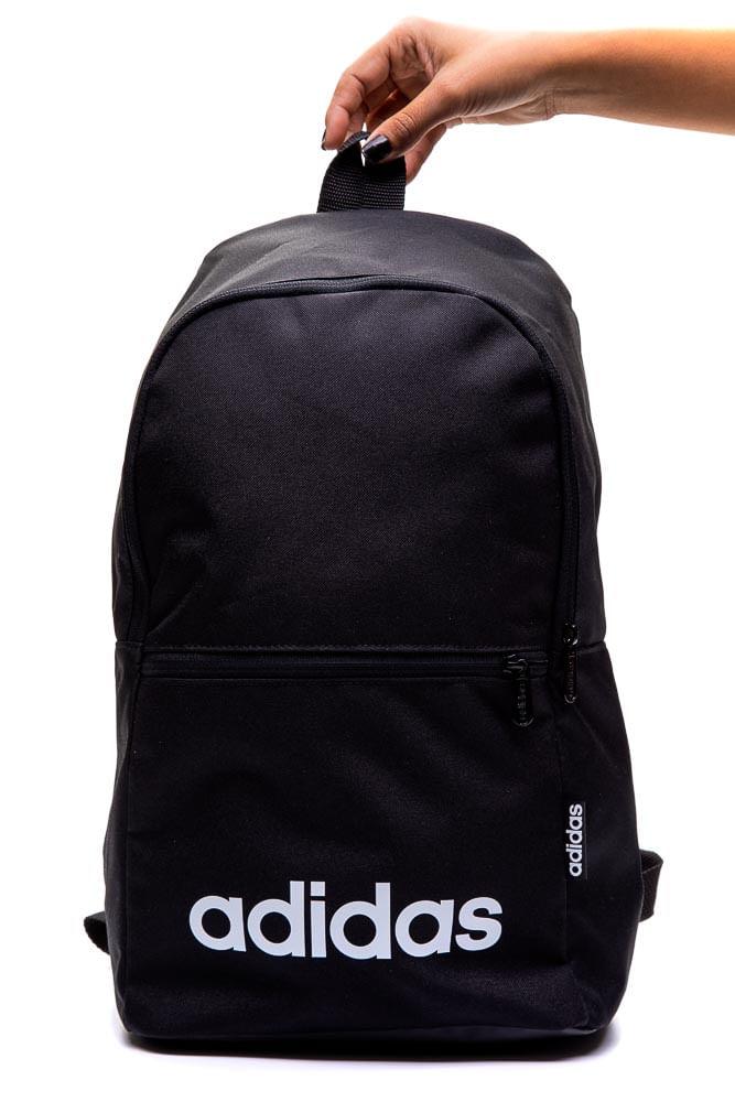 Mochila-Esportiva-Unissex-Adidas-Linear-Classic-Daily-Preto