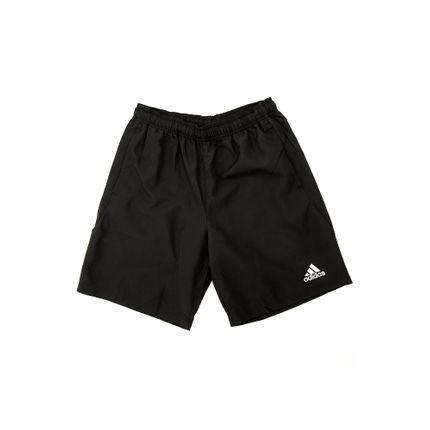 Bermuda-Academia-Masculina-Adidas-Plain-Preto